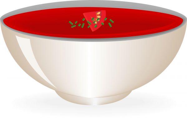 600x380 Tomato Soup Vector Art
