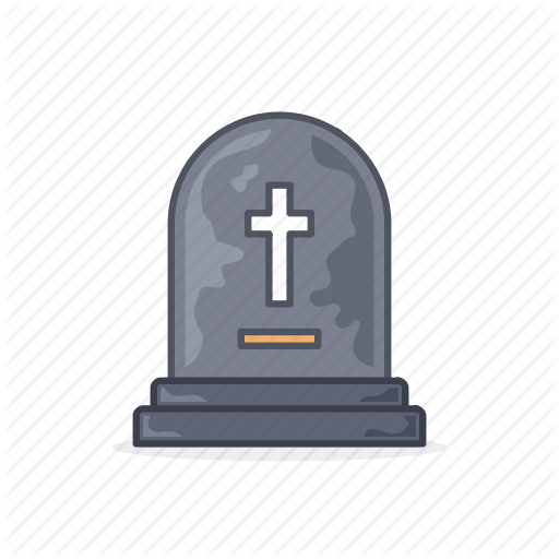 512x512 19 Gravestone Vector Grave Stone Huge Freebie! Download For