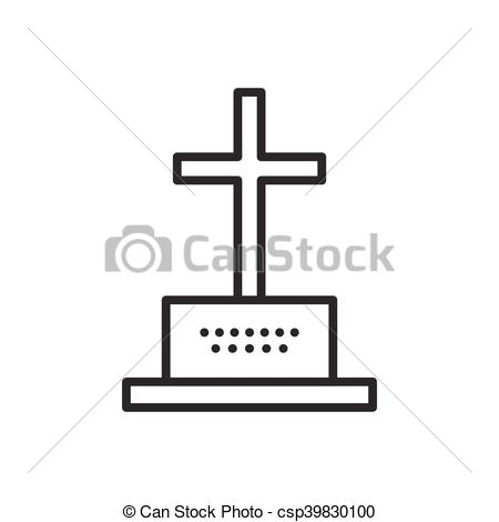 450x470 Grave And Tombstone. Gravestones And Cross, Grave And Tombstone