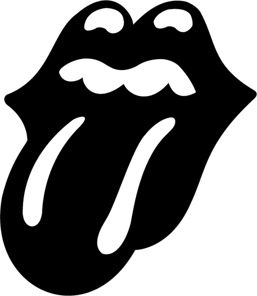 521x600 The Rolling Stones Tongue Free Vector In Encapsulated Postscript