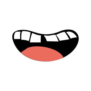 300x300 Human Tongue Royalty Free Vectors