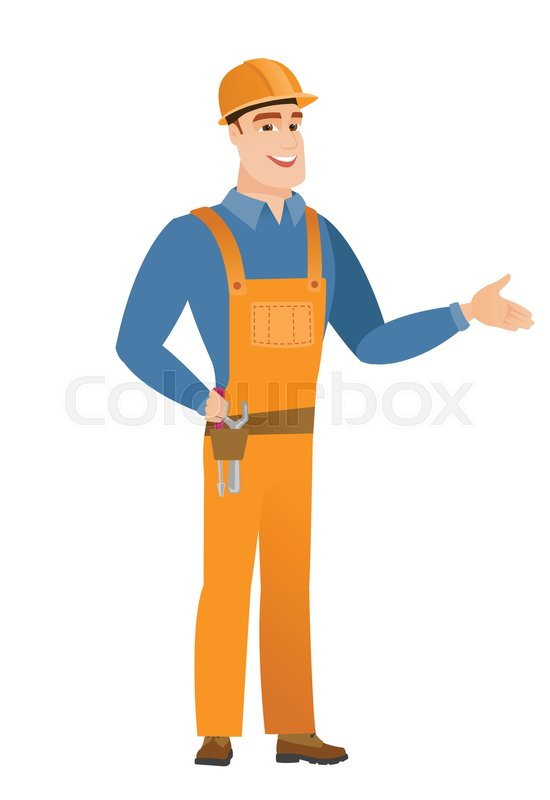 550x800 Smiling Caucasian Builder With His Hand On Tool Belt With