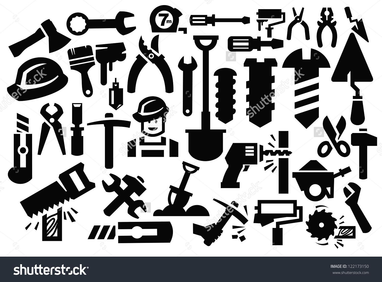 1500x1111 Tools Icon Vector
