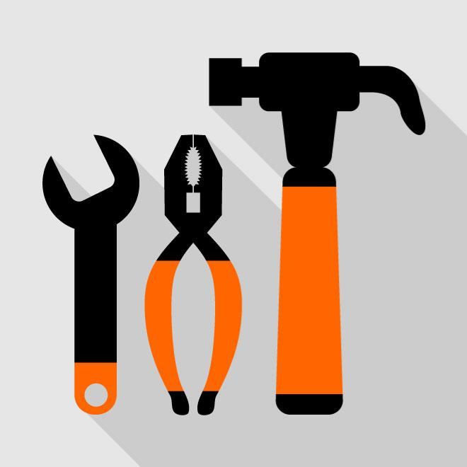 660x660 Mechanical Tools Vector Icon