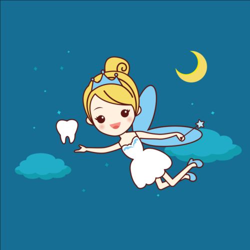 500x500 Cartoon Tooth Fairy Vector Material 06 Free Download