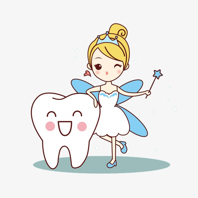 650x650 Tooth Fairy, Cartoon, Tooth, Dentist Png And Vector For Free Download