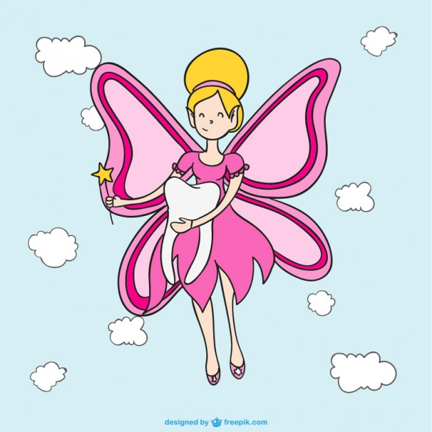 626x626 Tooth Fairy Vector Free Download