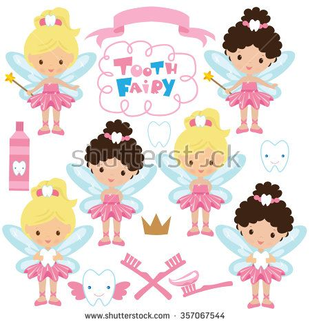 450x470 Tooth Fairy Vector Illustration Clipart Inspiration
