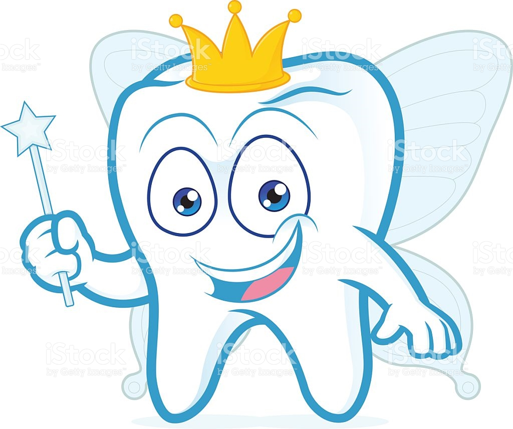 1024x856 Free Tooth Fairy Clip Art Vector Illustration Of Cartoon Smiling