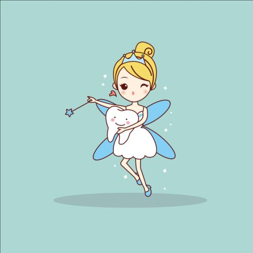 500x500 Cartoon Tooth Fairy Vector Material 02 Free Download
