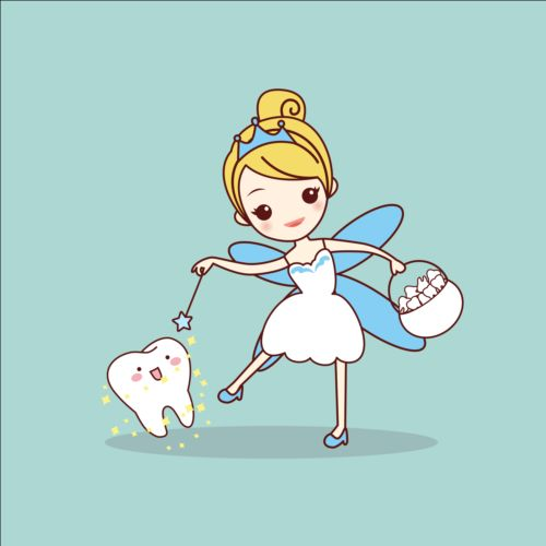 500x500 Cartoon Tooth Fairy Vector Material 03 Free Download