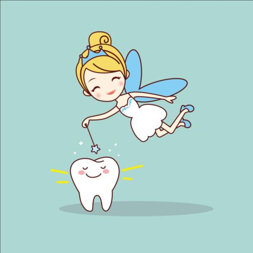 500x500 Cartoon Tooth Fairy Vector Material 05 Free Download