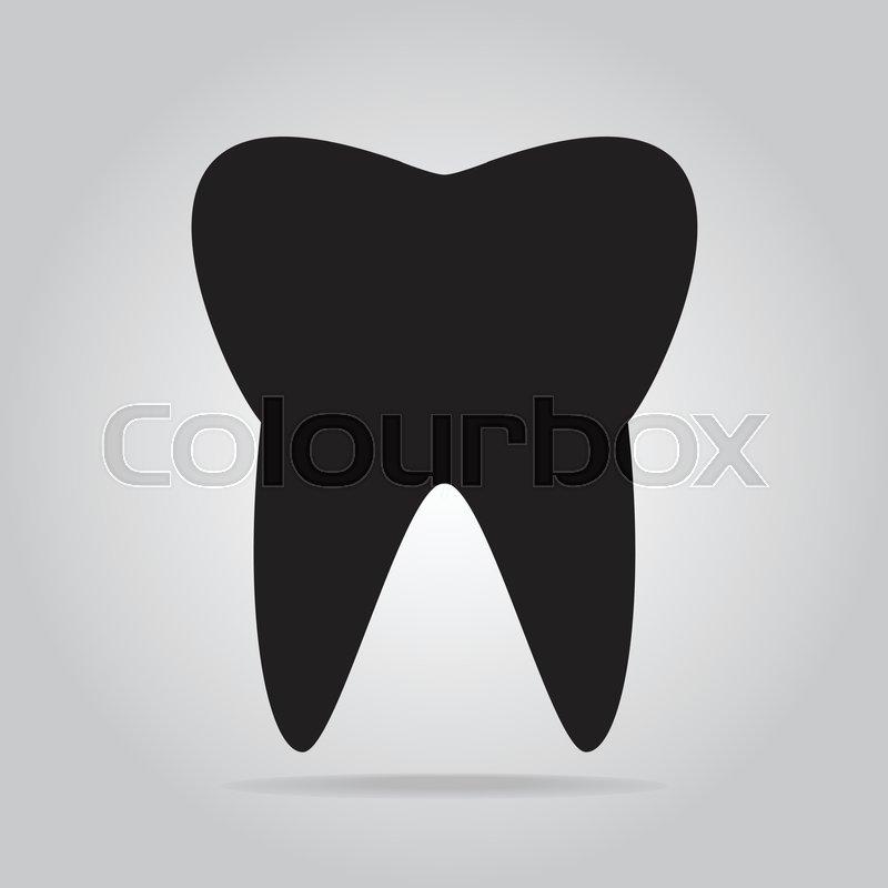 800x800 Tooth Icon, Dentist Icon Stock Vector Colourbox