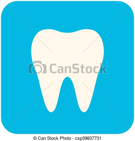 450x470 Tooth Icon. Tooth, Modern Flat Icon.