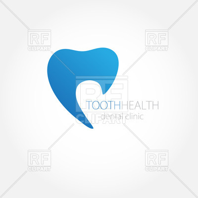 400x400 Dental Clinic Tooth Icon Vector Image Vector Artwork Of