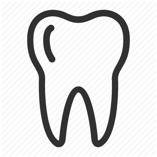 512x512 Tooth Vector Png Care Dental Dentist Doctor Hxgymt Clipart