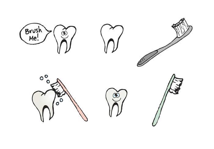 700x490 Free Brushing Teeth Vector Series