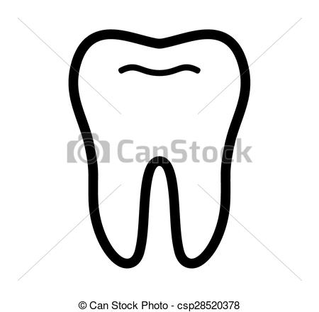 450x440 Tooth Vector Icon.
