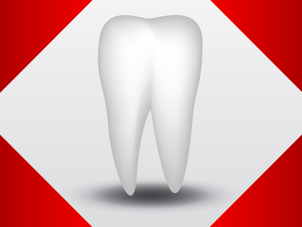 1024x768 Vector Tooth