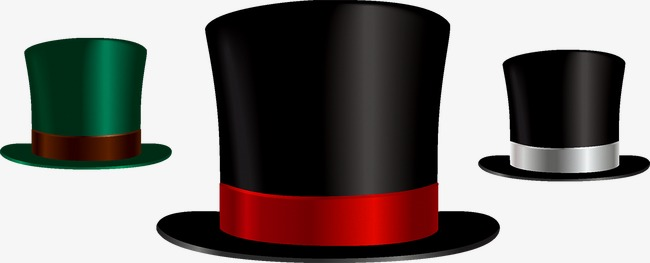 650x263 Top Hat, Hat, Magic Hat Png And Vector For Free Download