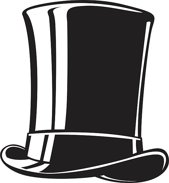 568x612 Top Hat Clipart Black And White Amp Top Hat Clip Art Black And White