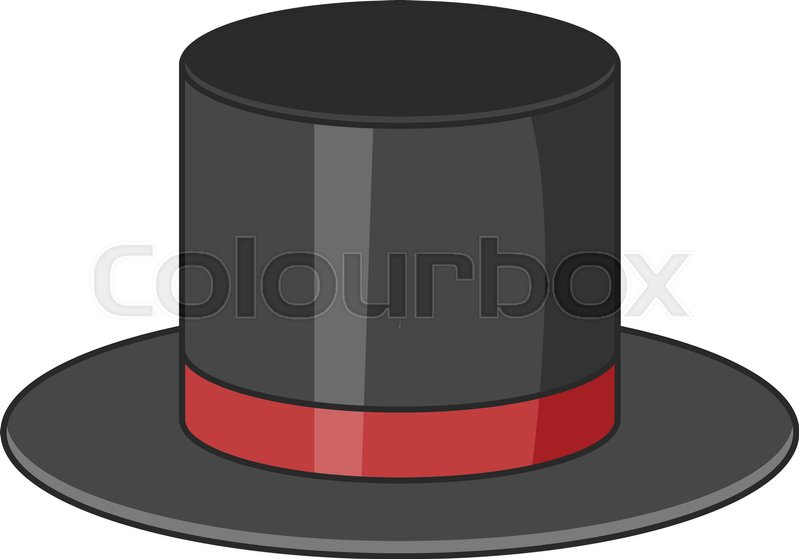 799x559 Top Hat Icon. Cartoon Illustration Of Top Hat Vector Icon For Web