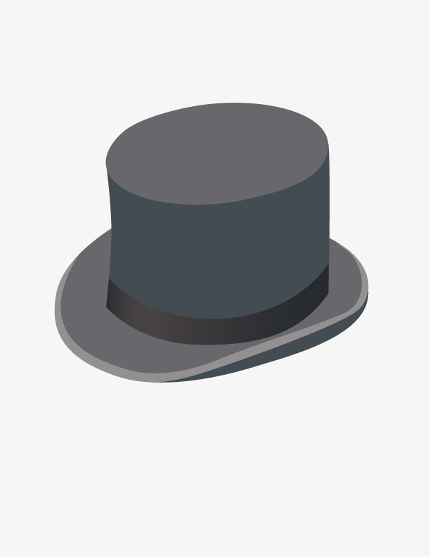 612x792 Black Top Hat, Black Vector, Hat Vector, Black Png And Vector For