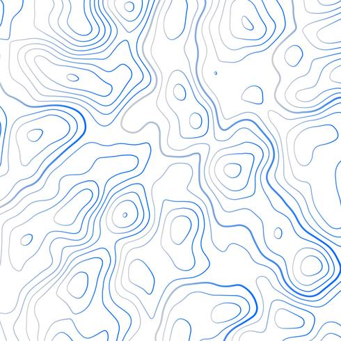 490x490 Topographic Map Vector Illustration Background