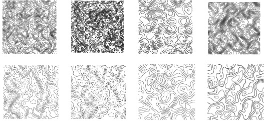 527x241 Creative Topographic Map Patterns Vector Free Vector In Photoshop