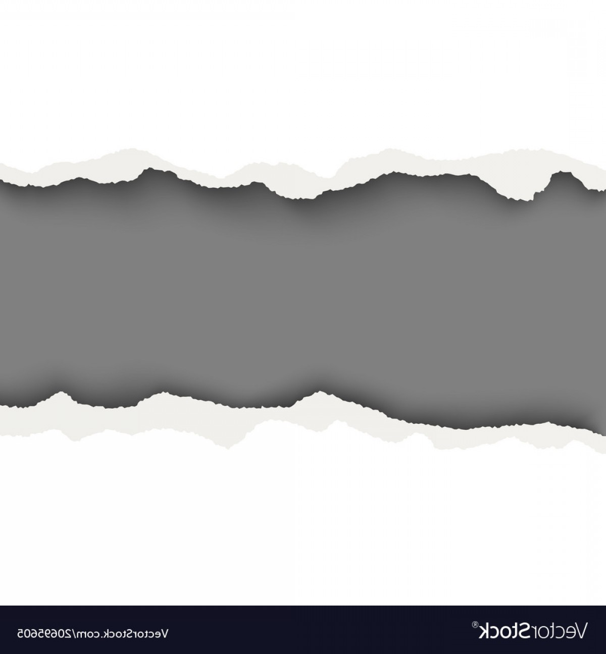1200x1296 Snatched Horizontal Lane With Torn Edges In Sheet Vector Shopatcloth