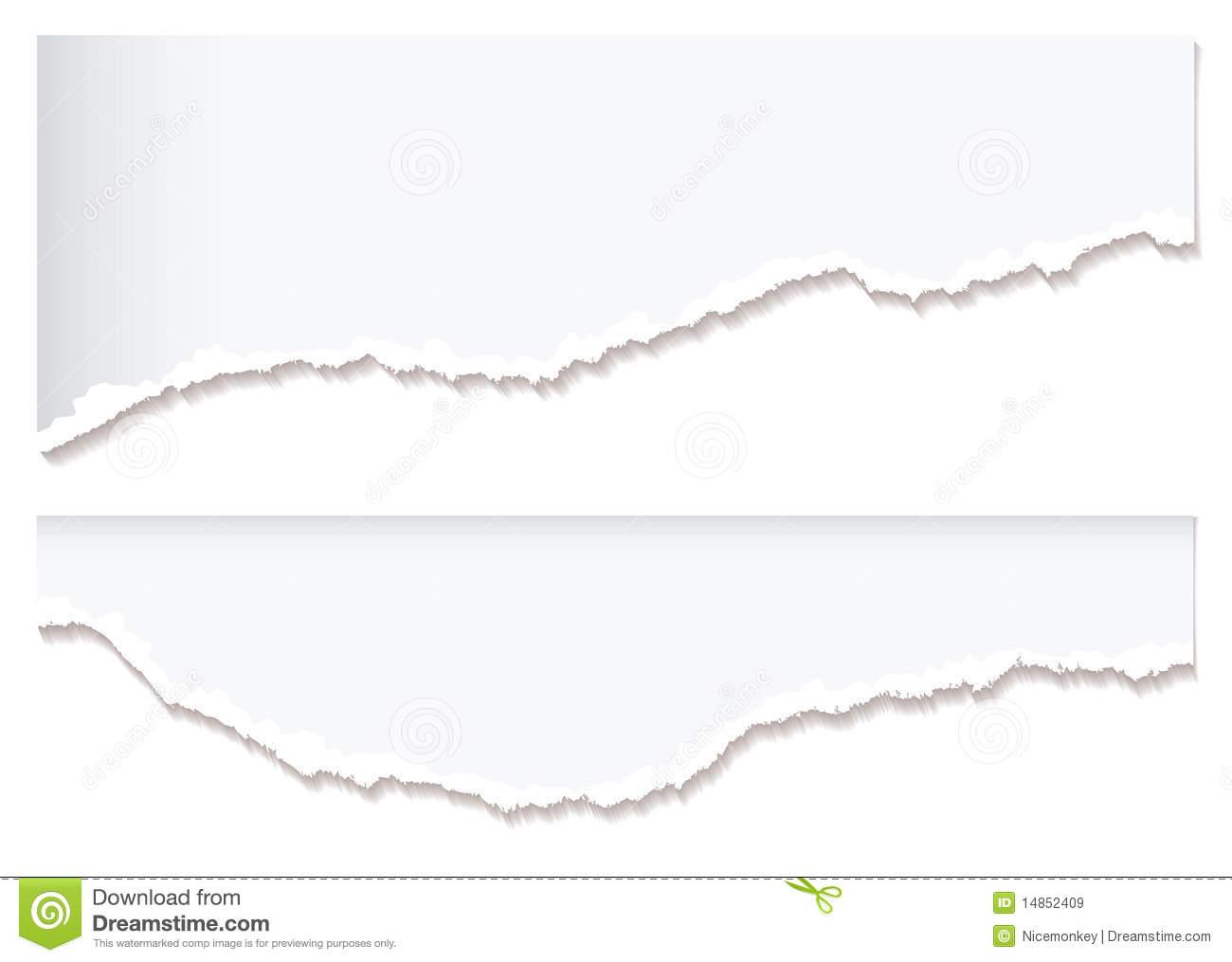 1300x1015 Torn Paper Edge Clipart