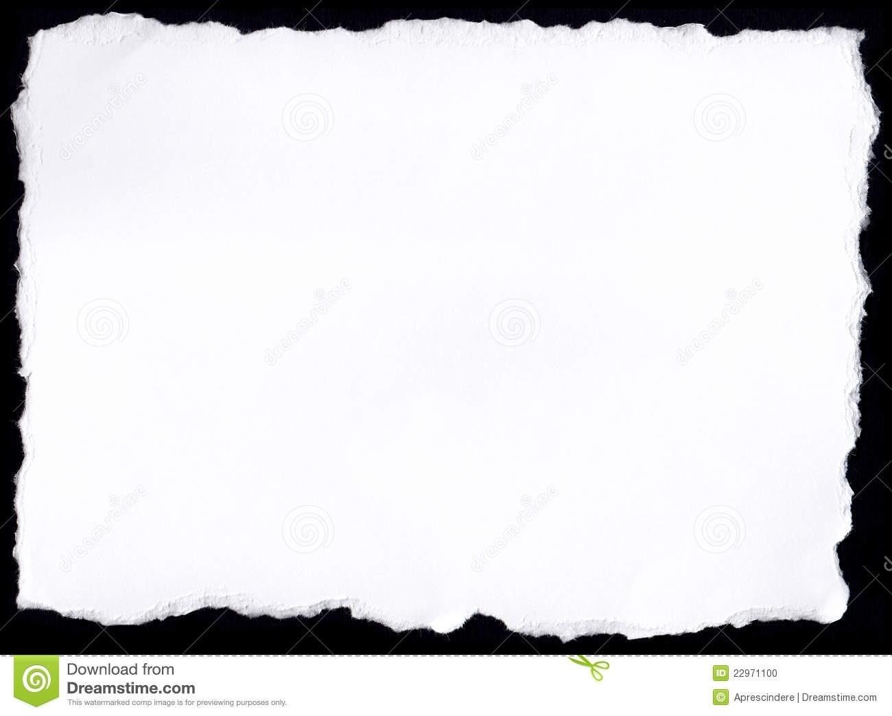 1300x1043 Torn Paper Frame Clipart