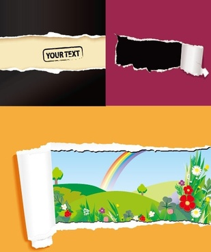 309x368 Torn Edge Vector Free Vector Download (548 Free Vector) For