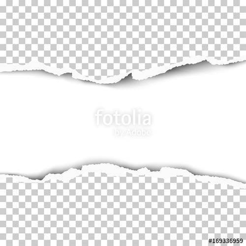 500x500 Vector Snatched Hole From Middle Of Transparent Paper With Torn