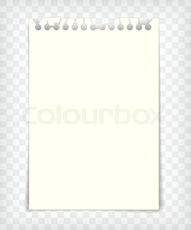666x800 Empty Notebook