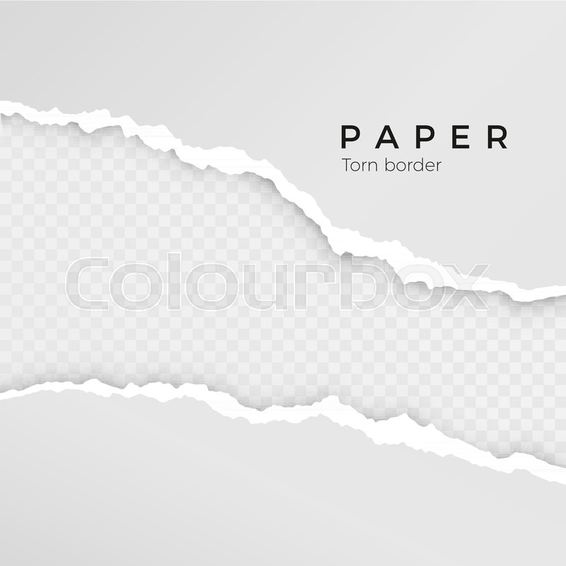 800x800 Torn Paper Sheet. Torn Paper Edge. Paper Texture. Rough Broken