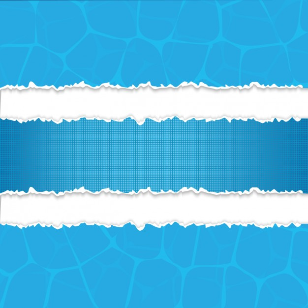 626x626 Blue Torn Paper Strips Vector Free Download