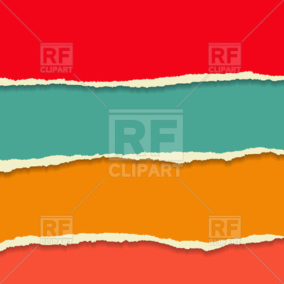 400x400 Colour Torn Paper Background Vector Image Vector Artwork Of