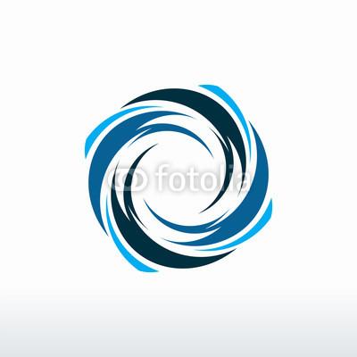 Tornado Logo Vector