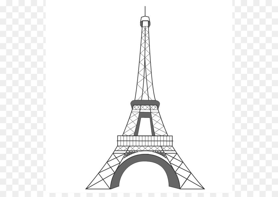 900x640 Eiffel Tower Drawing Clip Art