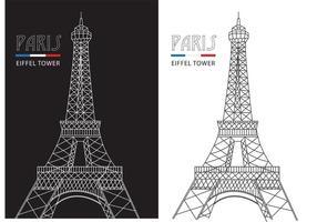 286x200 Eiffel Tower Free Vector Art