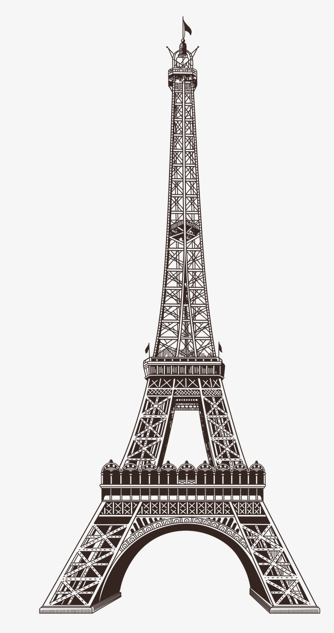 650x1232 Eiffel Tower Png, Vectors, Psd, And Clipart For Free Download