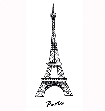 357x376 Free Eiffel Tower Vector Free Vector Download 217627 Cannypic