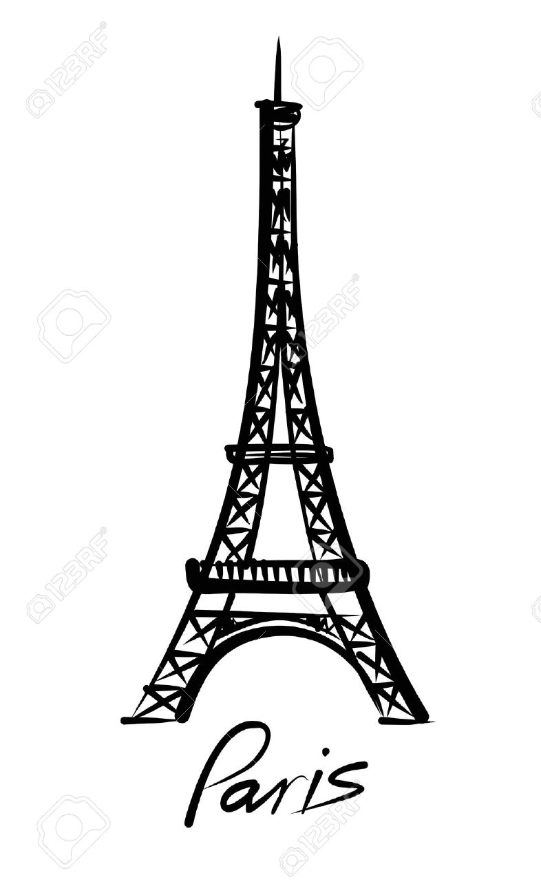 786x1300 Collection Of Torre Eiffel Clipart High Quality, Free