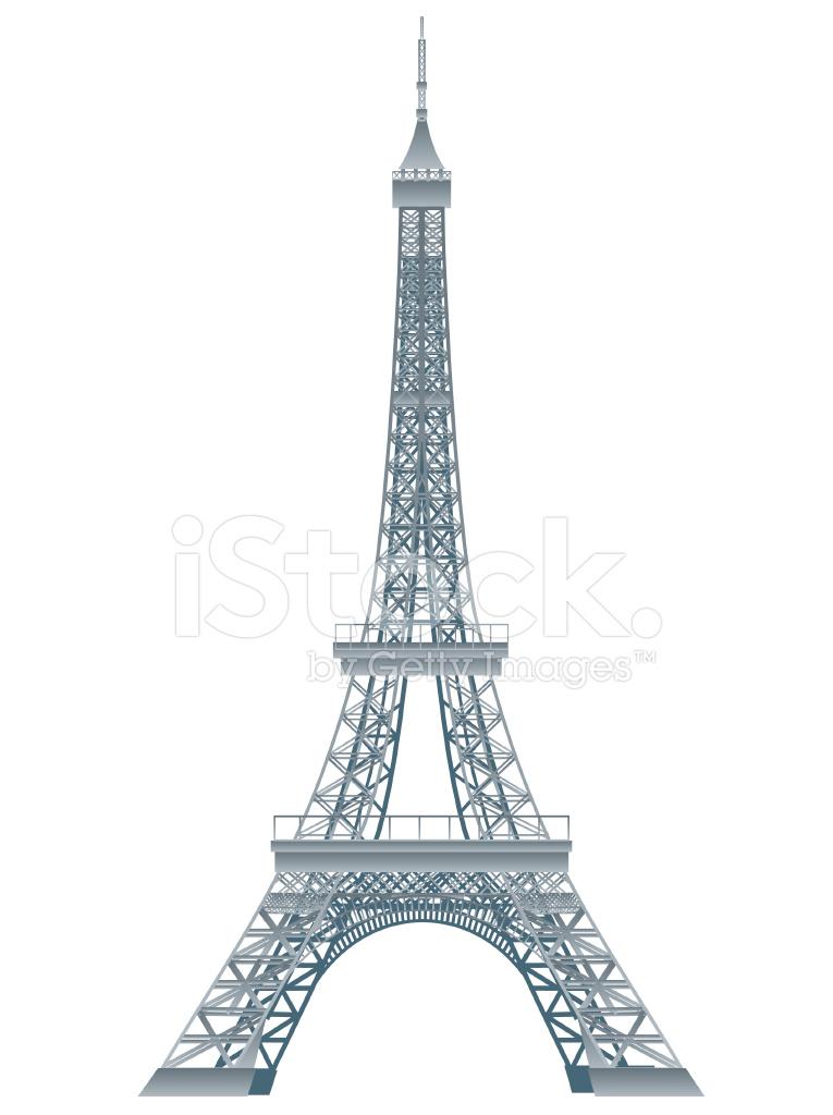 765x1024 Torre Eiffel Stock Vector