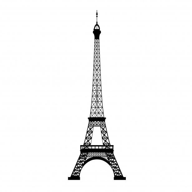 615x615 Torre Eiffel Vector 4062043