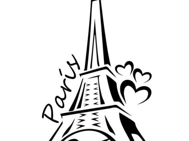 640x480 Torre Eiffel Vector 10