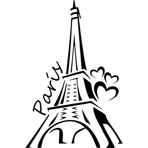 600x600 Torre Eiffel Vector 11