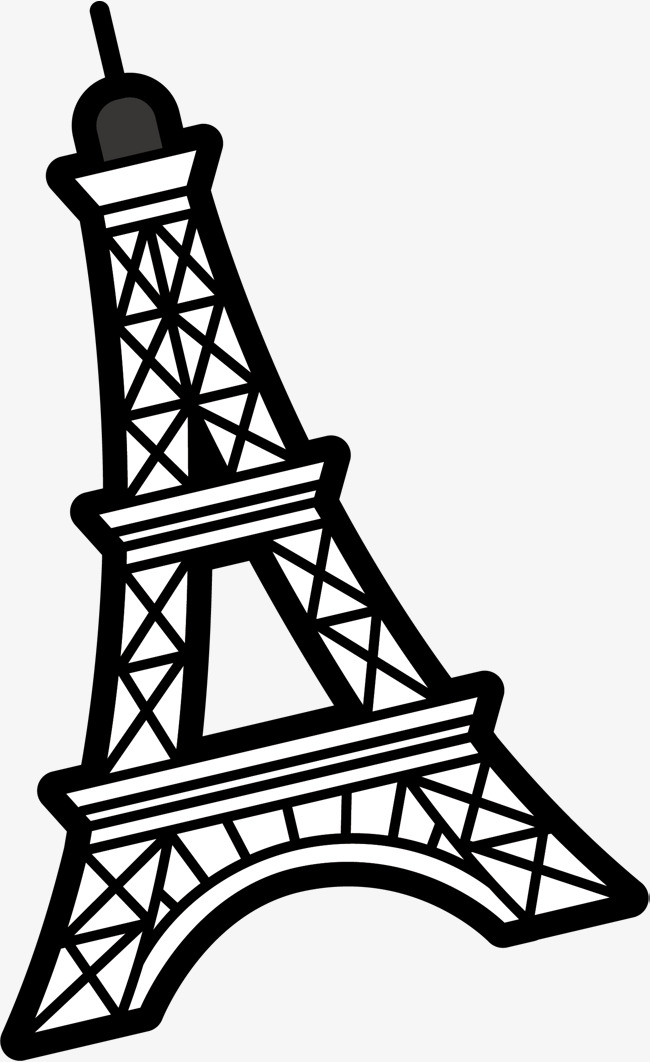650x1062 Vetor Desenho Torre Eiffel Vector Pintados Torre Eiffel Png