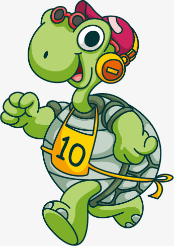 346x489 Running Turtle, Run, Tortoise, Shell Png And Vector For Free Download